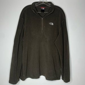 The North Face Mens XL Pullover Fleece 1/4 Zip Up